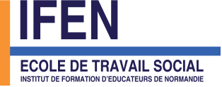 Logo ifen ecole travail social